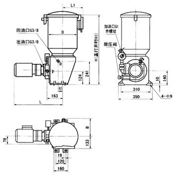 DRB-P电动润滑泵(图3)