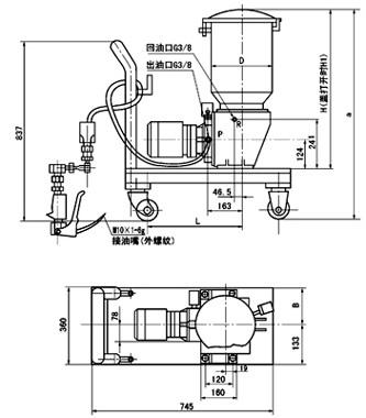 DRB-P电动润滑泵(图4)