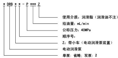 DRB-P电动润滑泵(图1)